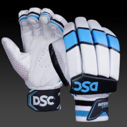dsc intense attitude batting gloves blue white 14 1