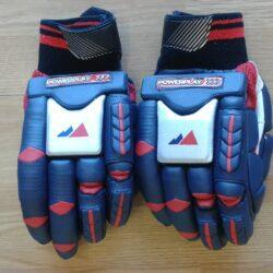 powerplay legend hibs logo embossed batting gloves 626 1