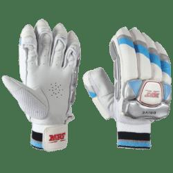 6 MRF Batting Leg Gloves Drive