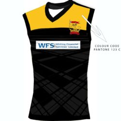 Mens coloured playing vest