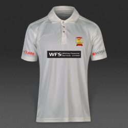 white playing shirts with logo Mens